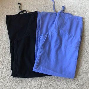 Cherokee Sz Small Scrub Pants